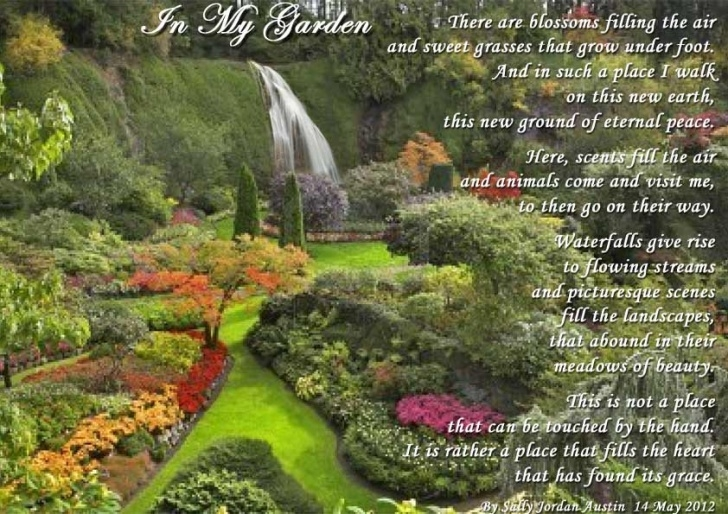 Amazing God'S Flower Garden Poem Picture115