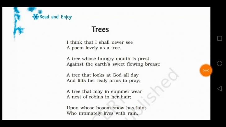 Amazing Poem On Flowers For Class 2 Picture534