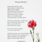 Amazing Poems About Flowers Growing Pics949