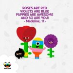 Amazing Red Is Rose Violet Is Blue Image402