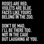 Amazing Roses Are Red Violets Are Blue Burns Picture745