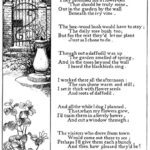 Awesome In A Garden Poem Pic170