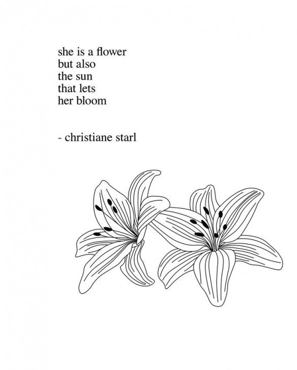 Awesome Poem About A Flower Blooming Image424