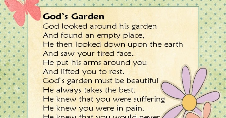 Awesome Poems About Gardens And God Image512