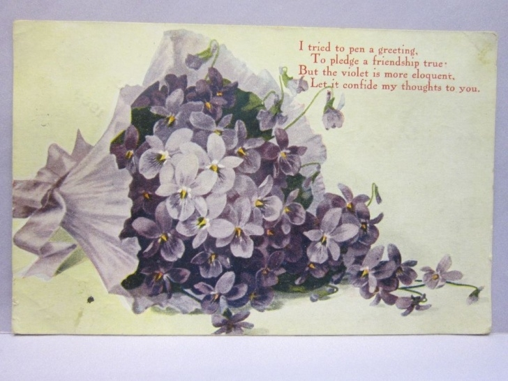 Awesome Purple Flower Poem Image128