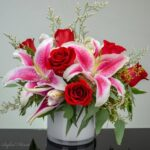 Awesome Roses Are Red Lilies Are White Image852