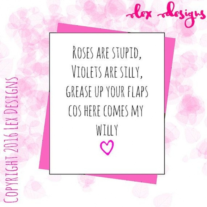 Awesome Roses Are Red Violets Are Blue Rude Poems Image211
