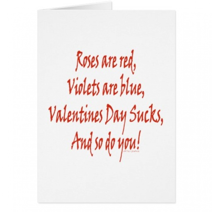 Awesome Silly Roses Are Red Valentines Day Poems Photo952