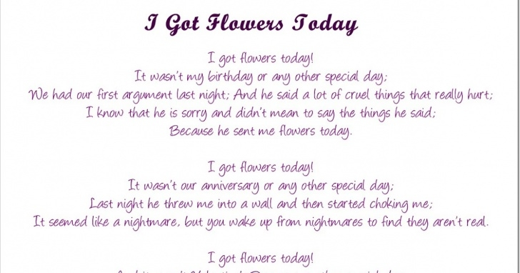 Best I Got Flowers Today Poem By Paulette Kelly Picture814