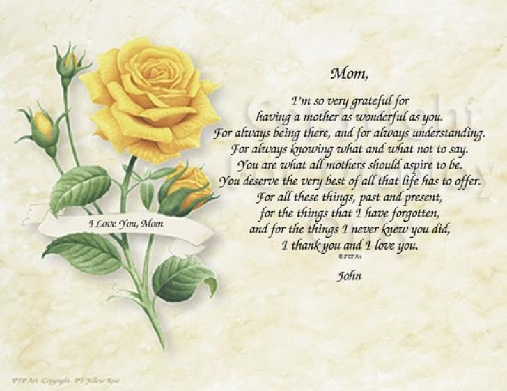 Best Mothers Day Flower Poem Picture226