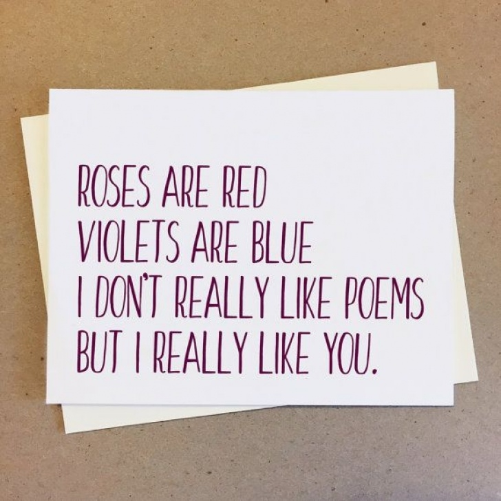 Best Roses Are Red Violets Are Blue Valentine Image544