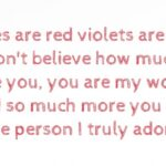 Best Violet Are Red Roses Are Blue Poem Photo477