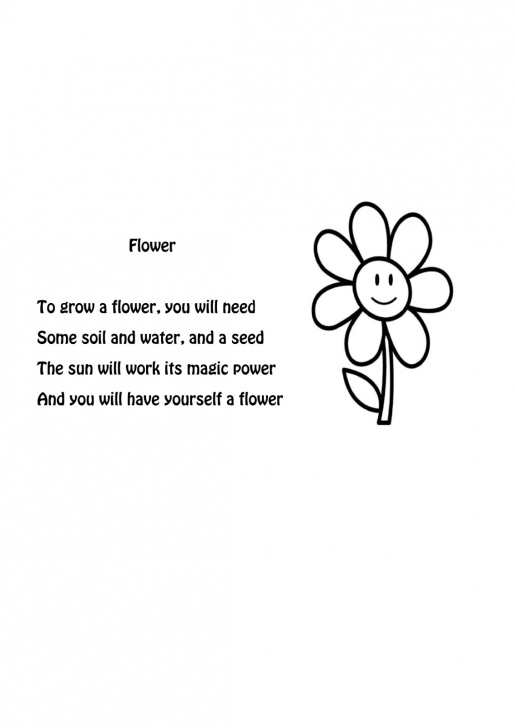 Creative About Flowers Poem Photo553