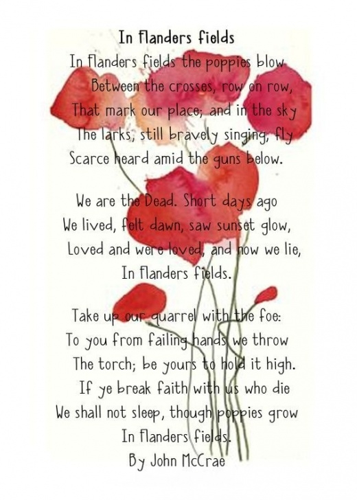 Creative In Poppies Fields Poem Image932