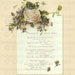 Creative Into The Rose Garden Poem Pic504