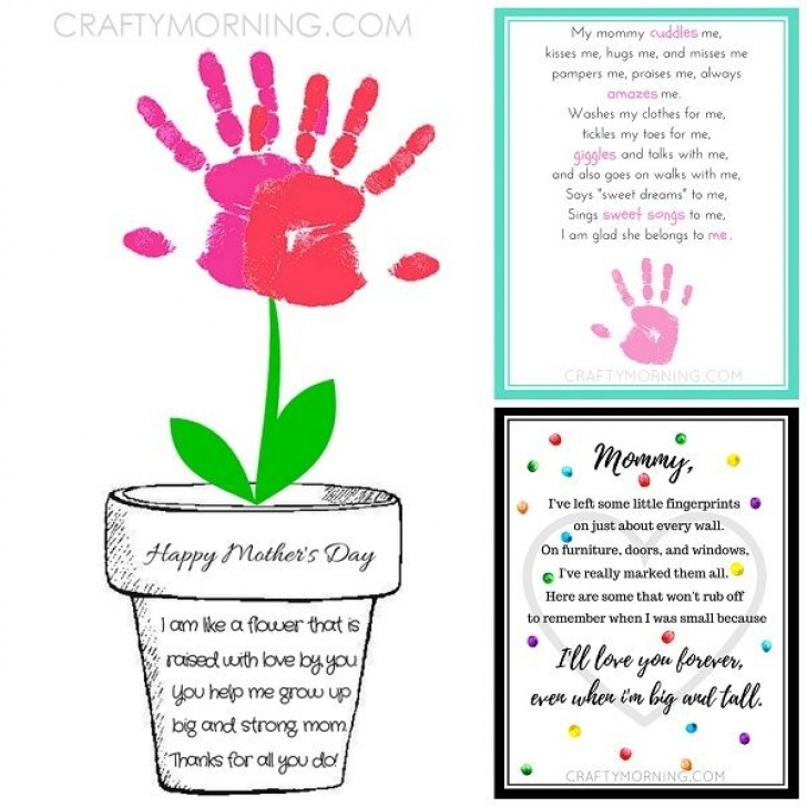 Creative Mothers Day Flower Poem Pics642