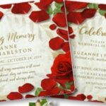 Creative Rose Petals Poem Pics562