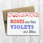 Creative Roses Are Red Violets Are Blue Baby Picture915