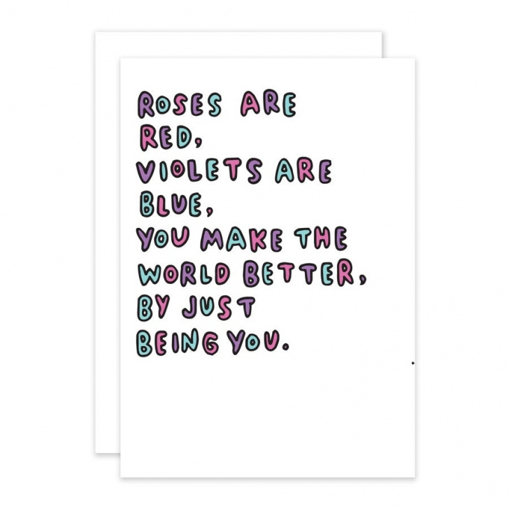 Creative Valentine Day Roses Are Red Poems Pics932
