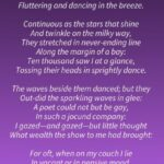Famous Daffodils Full Poem Picture897