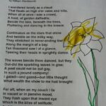 Famous Dandelion Poem Wordsworth Photo373