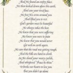Famous Funeral Poems For Dad About Gardening Picture612