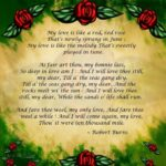 Famous Robert Burns Rose Poem Image276