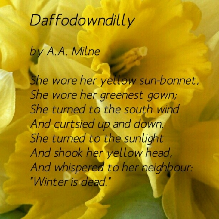 Famous Robert Herrick To Daffodils Picture238