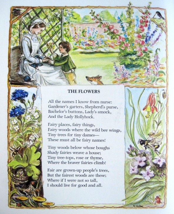 Famous Robert Louis Stevenson Poems For Children Image672