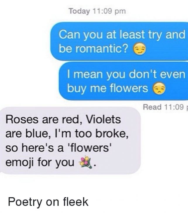 Famous Roses Are Red Violets Are Blue Sad Poems Pic928