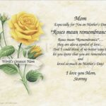 Famous Roses For Mother Poem Picture779
