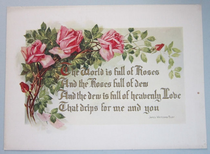 Famous The Rose And The Gardener Poem Image295