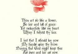 Fantastic A Child Is Like A Flower Poem Pic534