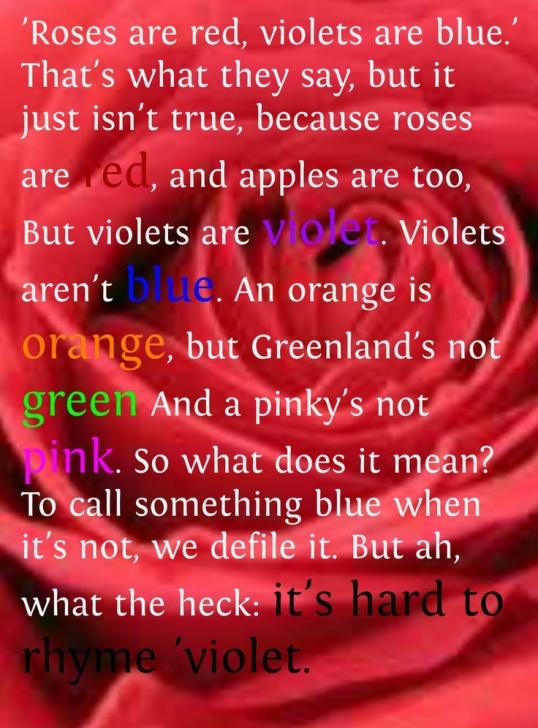 Fantastic A Rose Poem For Her Pics501