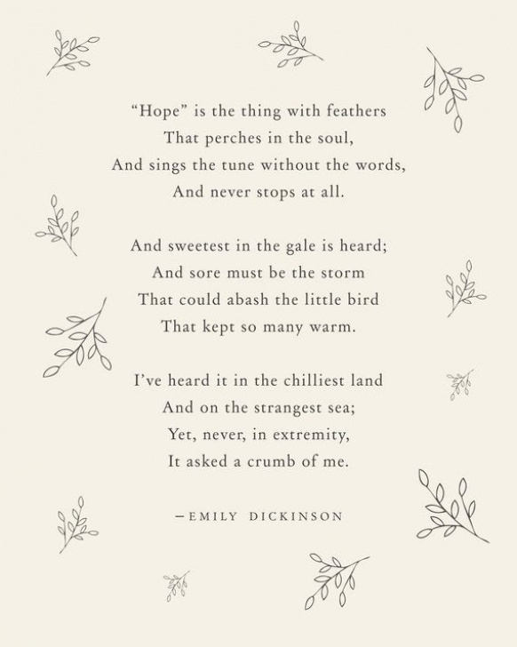 Fantastic Emily Dickinson Flower Poems Picture511