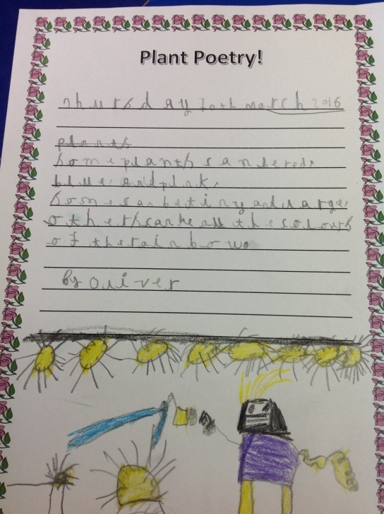 Fantastic Poem On Flowers In English Picture481