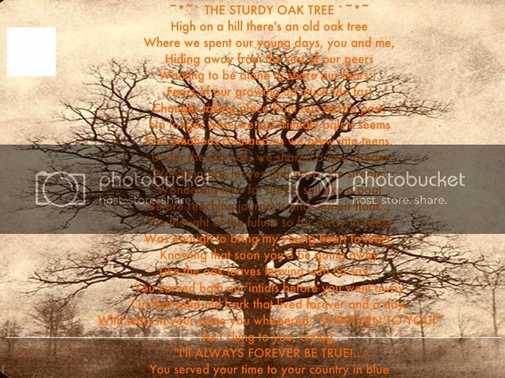 Fantastic The Mighty Oak Tree Poem Pics803