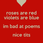 Gorgeous Funny Valentines Day Roses Are Red Poems Image373