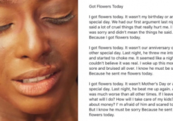 Gorgeous I Got Flowers Today Poem By Paulette Kelly Picture978