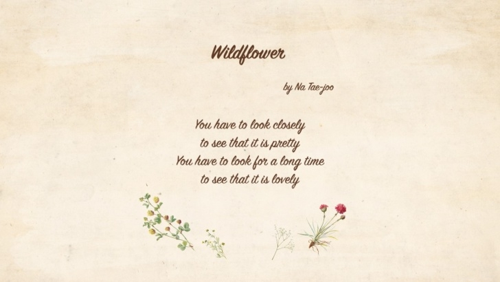 Gorgeous Like A Flower Poem Pics807