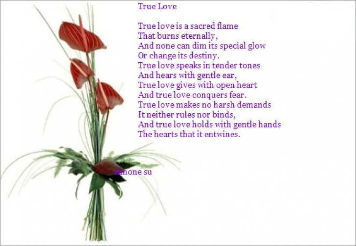 Gorgeous Love Is Like A Flower Poem Pics229