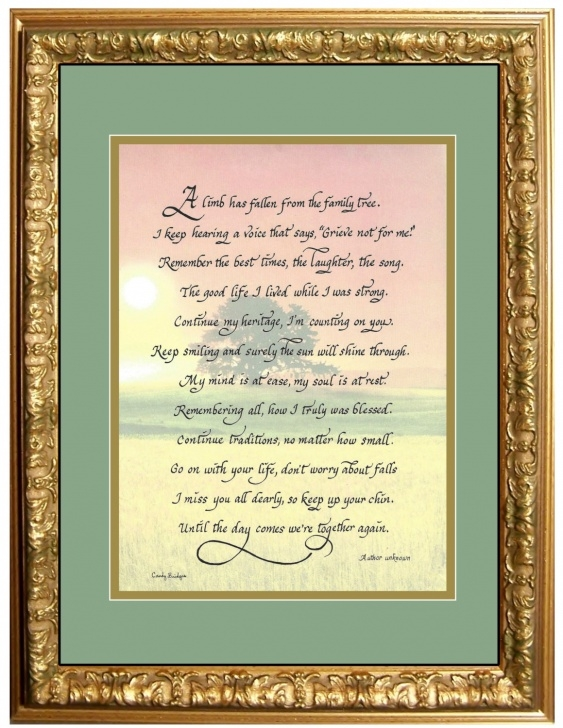 Gorgeous One Tree Poem Picture878