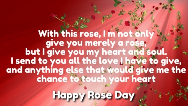 Gorgeous Rose Day Poem For Girlfriend Photo397