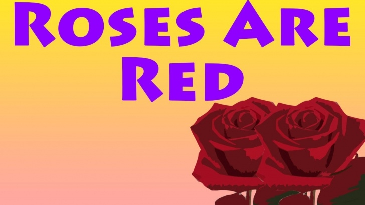 Gorgeous Roses Are Red Single Poems Photo776
