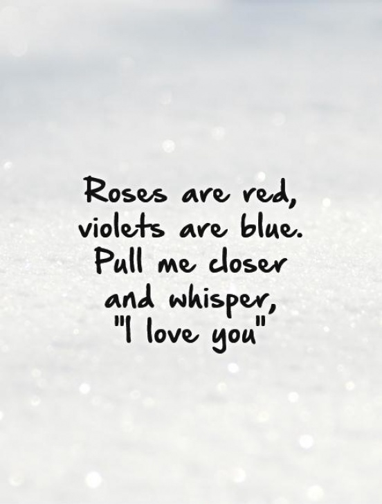 Gorgeous Roses Are Red Violets Are Blue Poem Love Pic116