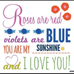 Gorgeous Roses Are Red Violets Are Blue Will You Be My Valentine Image138