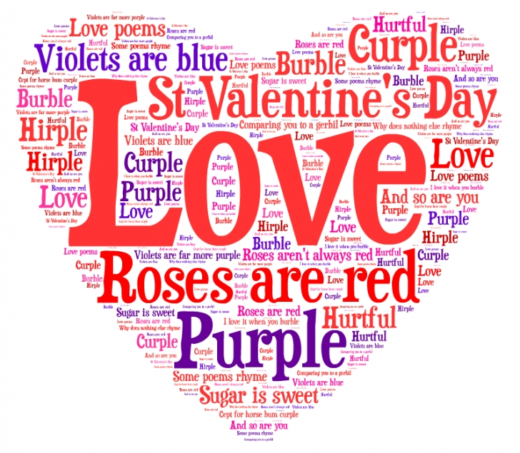 Gorgeous Roses Are Red Violets Are Purple Poem Image982