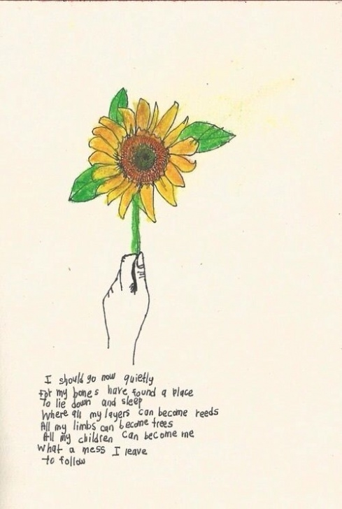 Gorgeous Sunflower Poem For Her Pic492