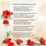 Great Famous Poems About Poppies Image602