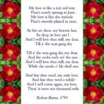 Great Flowers Are Red Poem Image283